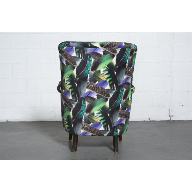 Theo Ruth Armchair Feather Upholstery - Image 6 of 10