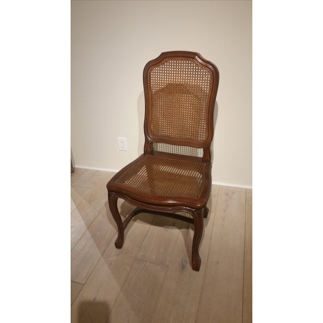 Image of French Cane Back and Seat Side Chair