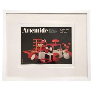 1969 Artemide Emilio Fioravant Advertisement