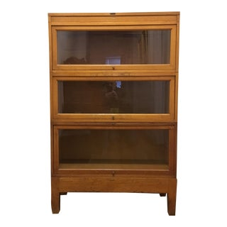 Globe Wernicke Tiger Oak Barrister Bookcase