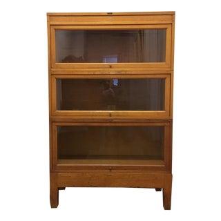 Globe Wernicke Tiger Oak Barrister Bookcase