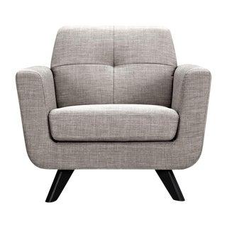 Aluminum Gray Mid-Century Modern Chair