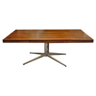 Florence Knoll Mid-Century Rosewood Desk
