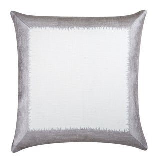 "Piper Collection Silver ""Ella"" Pillow"
