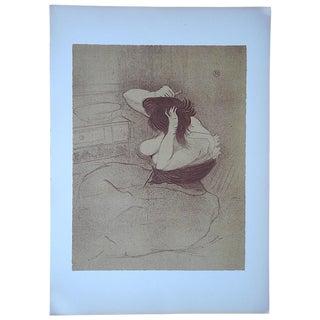 """Lautrec Vintage """"Elles Women"""" Lithograph"""