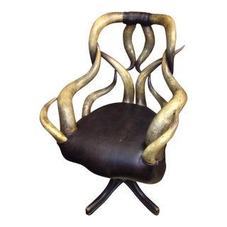 Wenzel Friedrich Antique Horn Chair