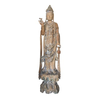 Antique Quan Yin Statue