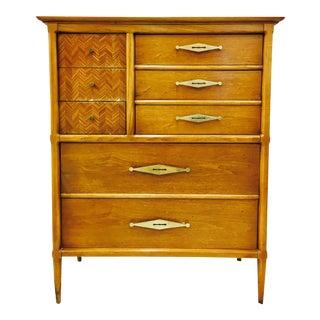 Vintage Mid-Century Modern Dresser Chest