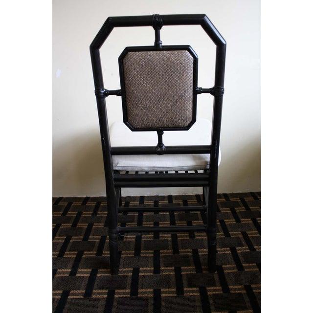 McGuire Harlan Side Chair in Gunmetal - Image 5 of 8