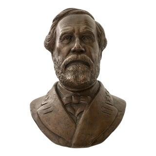 Vintage Ulysses S. Grant Bust Sculpture