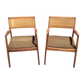 Jens Risom Playboy Chairs - A Pair