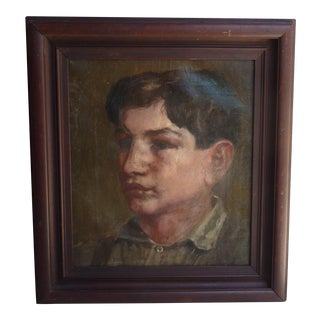 19th C. Portrait of Boy