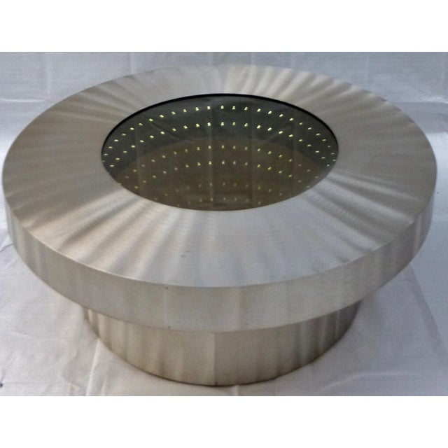 The Nova Infinite Tunnel Coffee Table - Image 3 of 11