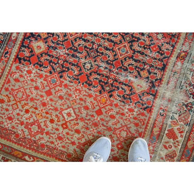 """Distressed Antique Malayer Rug - 4'1"""" X 6' - Image 4 of 8"""