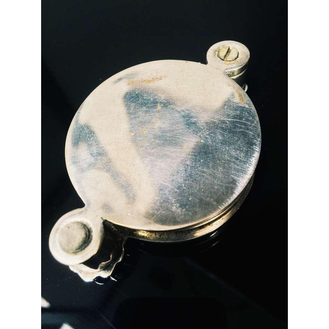 Mother of Pearl Plate and Silver Magnifying Glass - Image 5 of 5