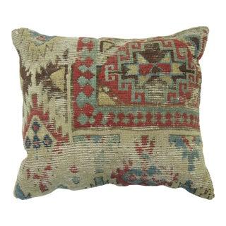 Distressed Caucasian Rug Pillow