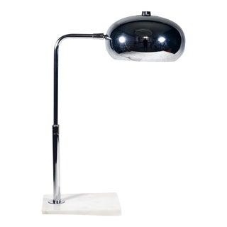 Chrome & Marble Desk Lamp