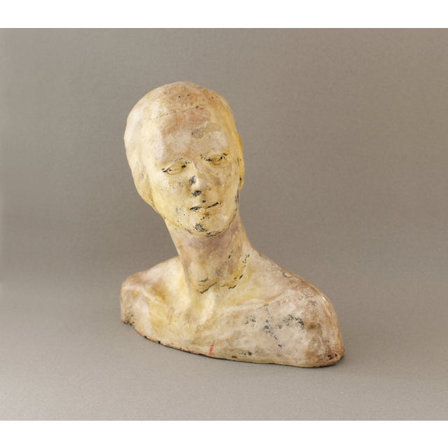 Vintage Handmade Bust of a Woman - Image 3 of 6