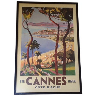 French Travel Poster of Cannes