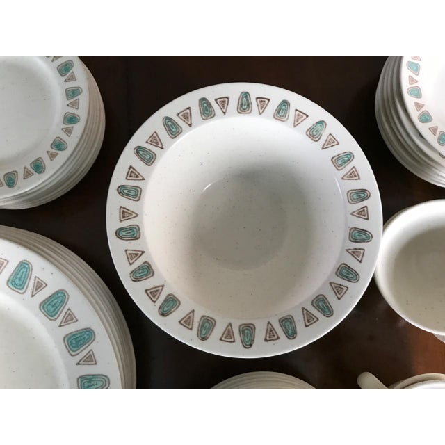 Metlox Poppytrail Navajo Mid-Century China - 48 Pieces - Image 4 of 7