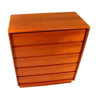 Danish Modern Teak Dresser Chest