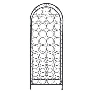 Arthur Umanoff Iron Wine Rack