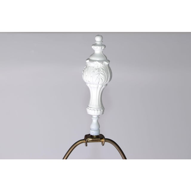 French Figurine Table Lamps - A Pair - Image 9 of 10