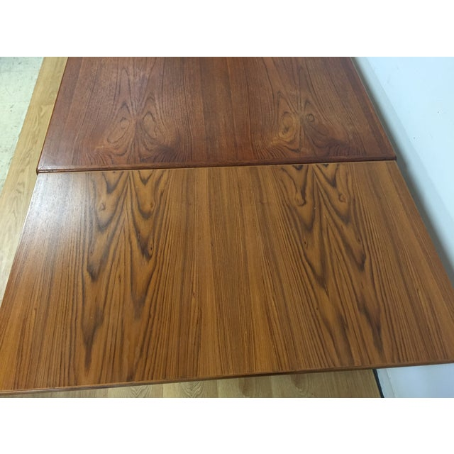 Image of Danish Teak Extending Dining Table