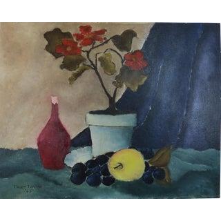 1965 Trudy Taylor Still Life Painting