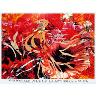 James Rosenquist 'Pearls Before Swine, Flowers Before Flames' Poster