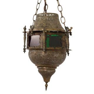 Moroccan Brass Lantern