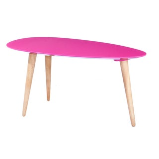Small Egg Table - Fuschia