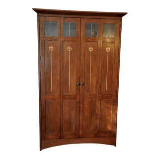 Stickley Harvey Ellis Mission Oak Entertainment Armiore