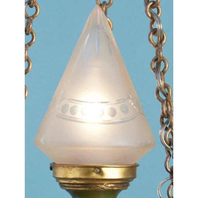Antique Empire-Style Lantern from France, circa 1910 - Image 3 of 6