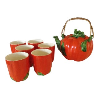 Japanese Pumpkin Tea Set