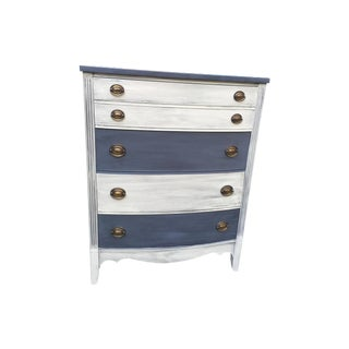 Mid-Century Two-Toned Chest Of Drawers