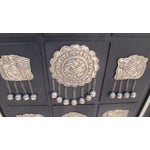 Image of Antique Persian Silver Hair Ornaments