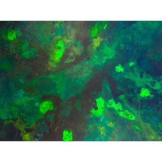 Bryan Boomershine 'Malachite' Painting