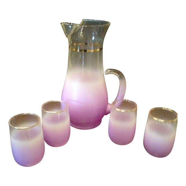 Image of Lilac Ombré Bar Set