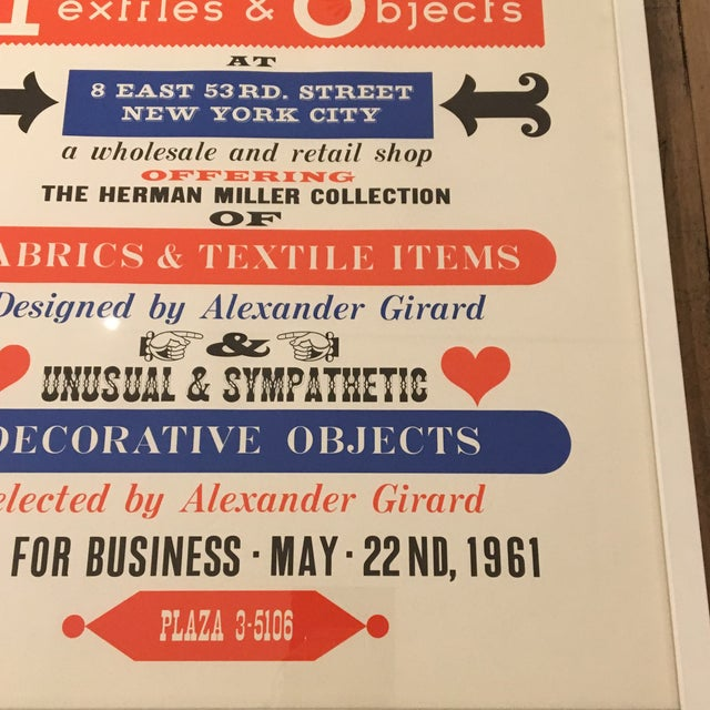 Herman Miller Textiles & Objects Print - Image 3 of 4