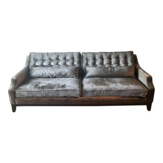 Z Gallerie Charcoal Sofa