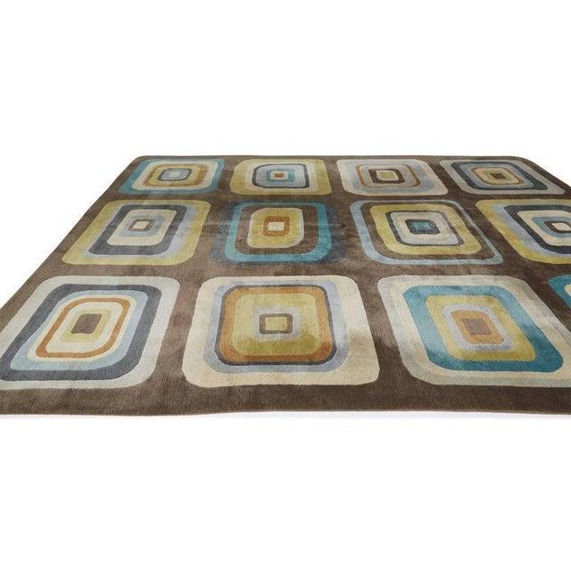 """Angela Adams Geometric Custom Wool Area Rug - 10' x 13'2"""" - Image 5 of 7"""