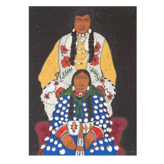 Kevin Red Star - Crow Husband & Wife Serigraph