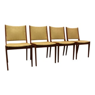 Danish Modern Mobler Style Teak Dining Chairs- S/4