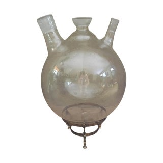 Three-Neck Blown Glass Boiling Flask
