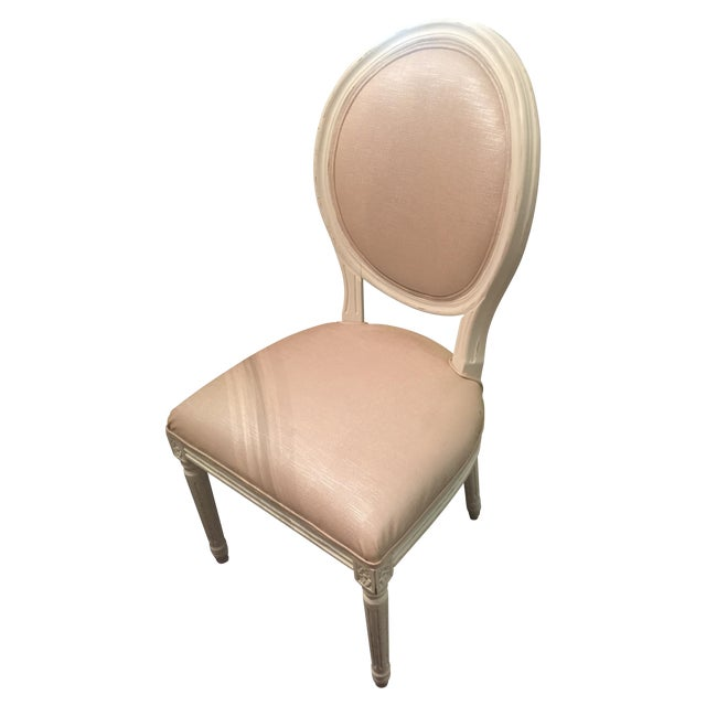 Restoration Hardware Round Dining Chair Chairish