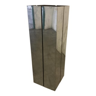 Pace Contemporary Chrome Pedestal