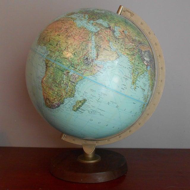 Mid-Century Relief Globe - Image 4 of 8