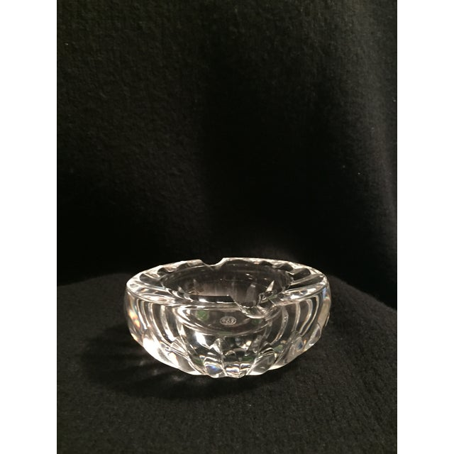 Vintage French Baccarat Crystal Ashtray - Image 3 of 5