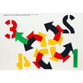 "Robert Indiana ""1 Cent Life"" Lithograph"